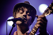 Pete Doherty performing at the Rockhal Luxembourg, Europe on April 9, 2012