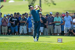 September 21, 2018 - Atlanta, GA, U.S. - ATLANTA, GA - SEPTEMBER 21: Justin Rose during the second round of the PGA Tour Championship on September 21, 2018, at East Lake Golf Club in Atlanta, GA. (Photo by John Adams/Icon Sportswire) (Credit Image: © John Adams/Icon SMI via ZUMA Press)