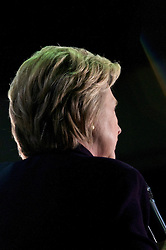 Presumable democratic presidential candidate Hillary Clinton speaks during a May 11, 2016 campaign stop at Camden County College in Blackwood, Gloucester Township, NJ.