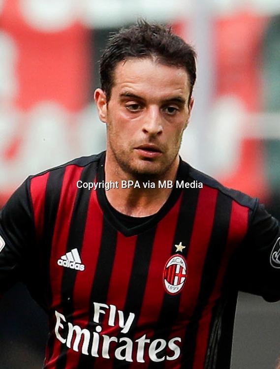 Italian League Serie A -2016-2017 / <br /> ( AC Milan  ) - <br /> Giacomo Bonaventura