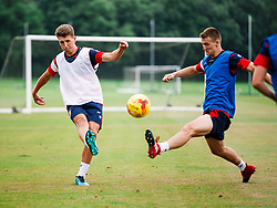 Aaron Parsons in action as Bristol City Under 23s return for a second day of training ahead of their 2017/18 Season - Rogan/JMP - 01/07/2017 - Failand Training Ground - Bristol, England.