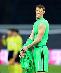 Germanys Manuel Neuer looks dejected - Mandatory by-line: Matt McNulty/JMP - 26/03/2016 - FOOTBALL - Olympiastadion - Berlin, Germany - Germany v England - International Friendly