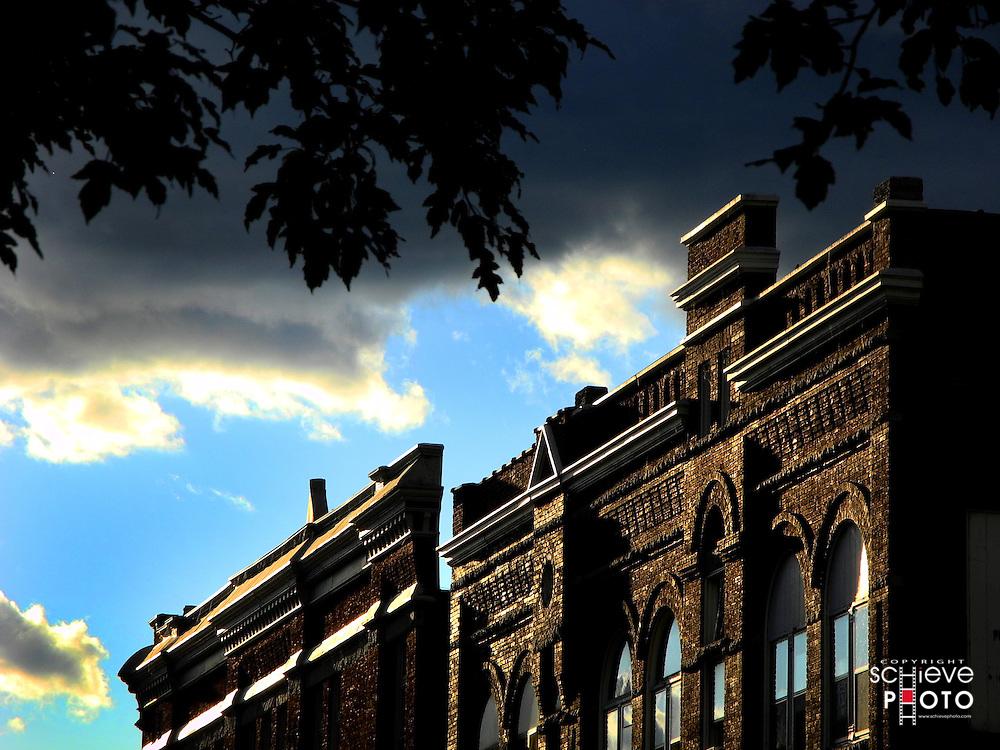Downtown La Crosse, Wisconsin historic buildings.