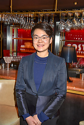 28 January 2020 - Mary Jean Chan - Costa Poetry Award Winner at the Costa Book Awards 2019 held at Quaglino's, 16 Bury Street, London.<br /> <br /> Photo by Dominic O'Neill/Desmond O'Neill Features Ltd.  +44(0)1306 731608  www.donfeatures.com