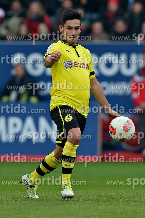10.11.2012, SGL Arena, Augsburg, GER, 1. FBL, FC Augsburg vs Borussia Dortmund, 11. Runde, im Bild  Ilkay Guendogan (# 8, Dortmund)) (Freisteller) during the German Bundesliga 11th round match between FC Augsburg and Borussia Dortmund at the SGL Arena, Augsburg, Germany on 2012/11/1