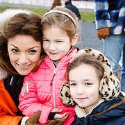 NLD/Biddinghuizen/20160306 - Hollandse 100 Lymphe & Co 2016, Pr. Aimee en kinderen Magali Margriet Eleonoor en Eliane