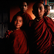 Young Tibetan monks 1986.