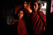 Young Tibetan monks 1986.