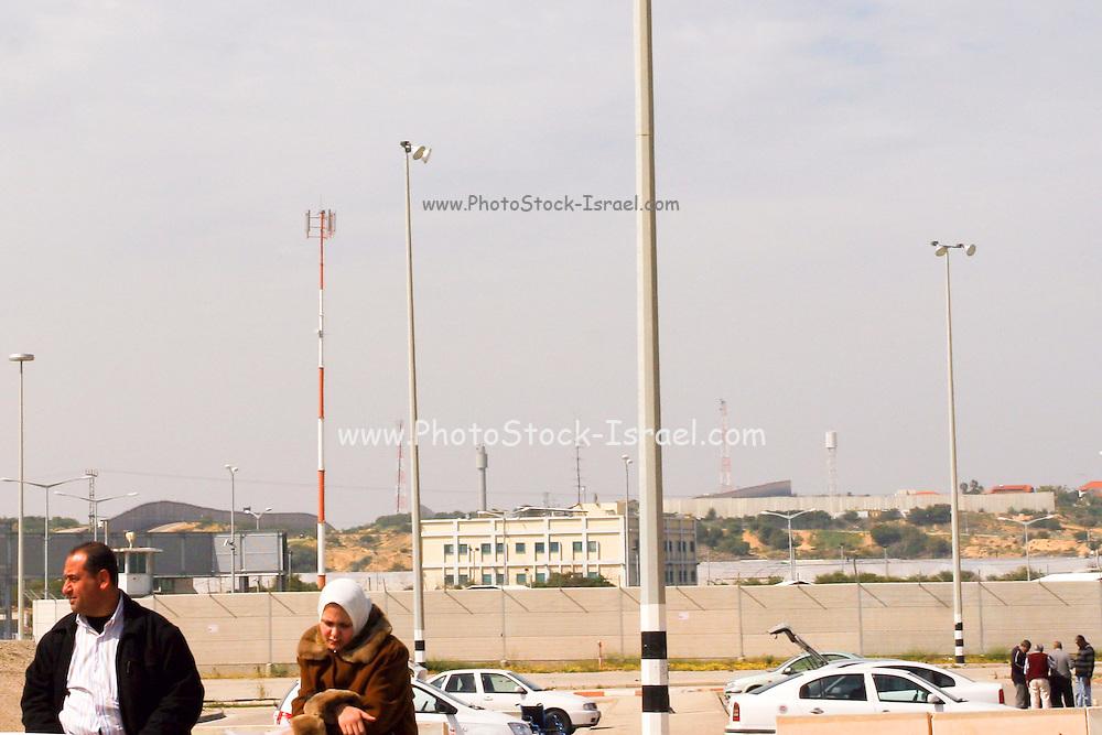 Israel, Gaza, The Erez crossing point. Feb 28, 2008