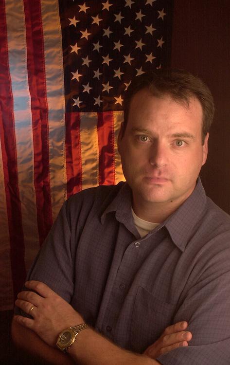 15464Jerry Miller W/Flag