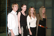 Brady Corbet, Evan Rachel Wood, Holly Hunter &amp; Catherine Hardwicke<br />VLIFE &amp; HERMES hosts its first annual January OSCAR&acirc; Contenders Party in partnership with Aston Martin <br />HERMES Boutique<br />Beverly Hills, CA, USA<br />Monday, January 12, 2004  <br />Photo By Celebrityvibe.com/Photovibe.com
