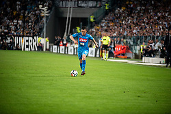 April 22, 2018 - Turin, Piedmont/Turin, Italy - Callejon durig the Serie A match Juventus FC vs Napoli. Napoli won 0-1 at Allianz Stadium, in Turin, Italy 22nd april 2018 (Credit Image: © Alberto Gandolfo/Pacific Press via ZUMA Wire)