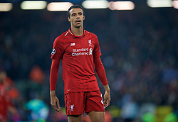 LIVERPOOL, ENGLAND - Tuesday, December 11, 2018: Liverpool's Joel Matip during the UEFA Champions League Group C match between Liverpool FC and SSC Napoli at Anfield. (Pic by David Rawcliffe/Propaganda)