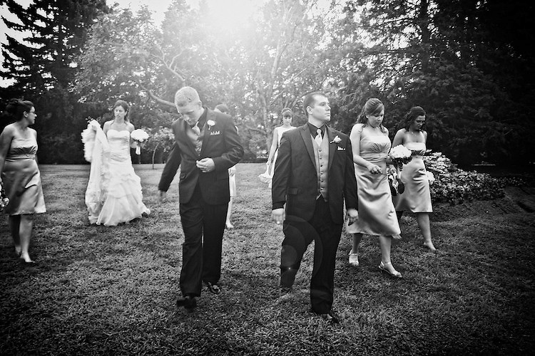 The Bridal Party.<br /> <br /> To view Katie and Brad's complete Wedding Gallery Collection, visit the Client Area and log-in. You'll be able to view all images as a slideshow, order prints and more.<br /> <br /> &copy; Images of a Promise by Dean Oros Photo + Design