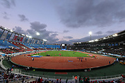 Jun 16, 2019; Rabat, Morocco; General overall view of Prince Moulay Abdellah Stadium during the Meeting International Mohammed VI d'Athletisme de Rabat
