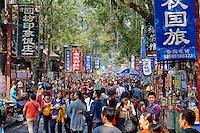 Chine, province du Shaanxi, ville de Xi'an, quartier Musulman Hui, le marché // China, Shaanxi province, Xian, Hui neighburhood