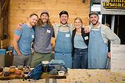 Indigo, Persicaria tinctoria Seed Growers: James Young & Guy Banner, Grand Prismatic Seed<br /> Farmer: Kara Gilbert, Vibrant Valley Farm<br /> Chef: Karl Holl, Spatzle and Speck