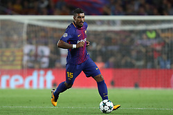 September 12, 2017 - Barcelona, Spain - Paulinho of FC Barcelona during the UEFA Champions League, Group D football match between FC Barcelona and Juventus FC on September 12, 2017 at Camp Nou stadium in Barcelona, Spain. (Credit Image: © Manuel Blondeau via ZUMA Wire)