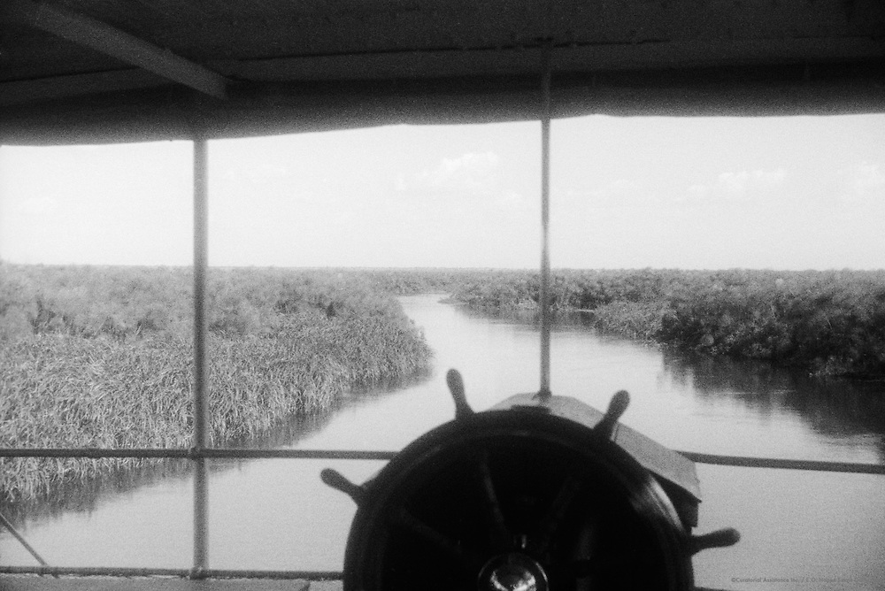 Wheel on River, Victoria Nile, Uganda, Africa, 1937