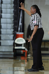 12 December 2015:  LaSha Hopson during an NCAA women's basketball game between the Wisconsin Stevens Point Pointers and the Illinois Wesleyan Titans in Shirk Center, Bloomington IL