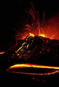 Eruption, Kilauea Volcano, Island of Hawaii