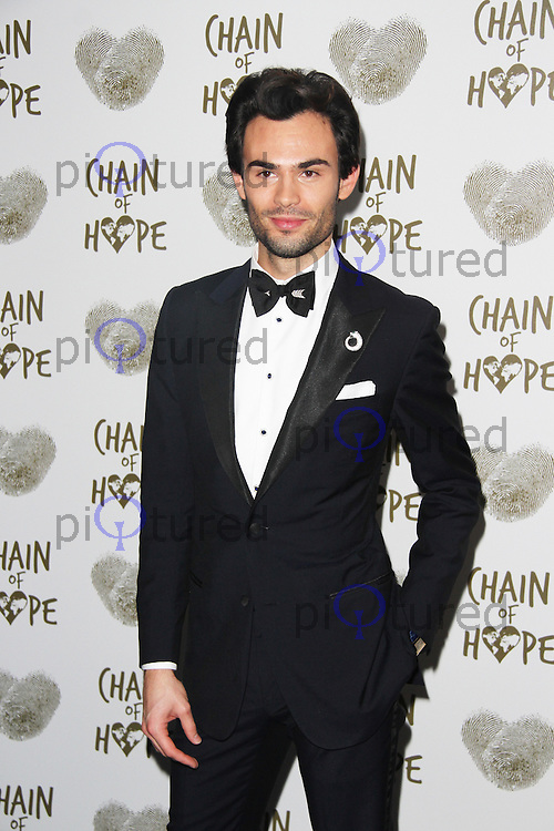 Mark Francis Vandelli, Chain of Hope Annual Ball 2014, Grosvenor House, London UK, 21 November 2014, Photo By Brett D. Cove