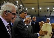 4/10/12 - COURNON - PUY DE DOME - FRANCE - Sommet de l Elevage 2012. Visite de Stephane Le Foll, Ministre de l Agriculture - Photo Jerome CHABANNE