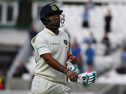 September 11, 2018 - London, Greater London, United Kingdom - Rishabh Pant of India.during International Specsavers Test Series 5th Test match Day Five  between England and India at Kia Oval  Ground, London, England on 11 Sept 2018. (Credit Image: © Action Foto Sport/NurPhoto/ZUMA Press)