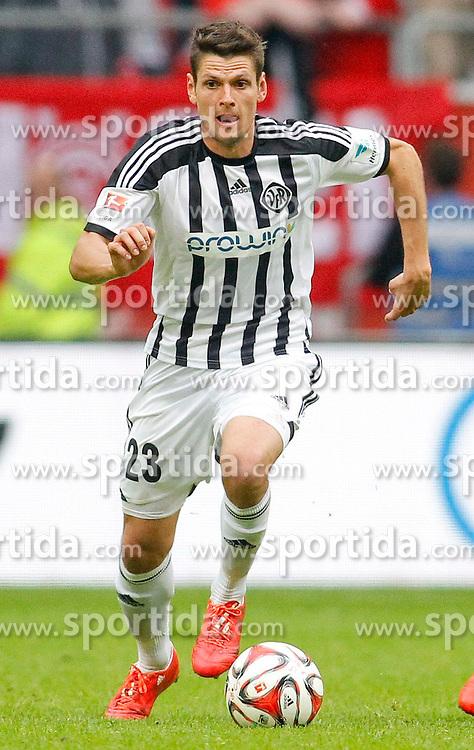 09.05.2015, Esprit-Arena, D&uuml;sseldorf, GER, 2. FBL, Fortuna D&uuml;sseldorf vs VfR Aalen, 32. Runde, im Bild Andreas Hofmann (VfR Aalen #23) // during the 2nd German Bundesliga 32nd round match between Fortuna D&uuml;sseldorf vs VfR Aalen at the Esprit-Arena in D&uuml;sseldorf, Germany on 2015/05/09. EXPA Pictures &copy; 2015, PhotoCredit: EXPA/ Eibner-Pressefoto/ Sch&uuml;ler<br /> <br /> *****ATTENTION - OUT of GER*****