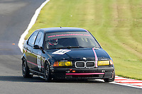 #33 Moulton-Smith / Boardman BMW 318ti Compact 1800 during the CSCC Tin Tops at Oulton Park, Little Budworth, Cheshire, United Kingdom. October 15 2016. World Copyright Peter Taylor/PSP. <br /> Copy of publication required for printed pictures.  Every used picture is fee-liable. http://archive.petertaylor-photographic.co.uk