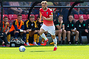 Salford City defender Scott Wiseman in action during the EFL Sky Bet League 2 match between Salford City and Port Vale at Moor Lane, Salford, United Kingdom on 17 August 2019.