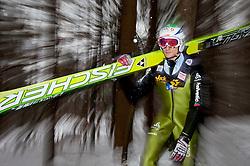 05.01.2012, Paul Ausserleitner Schanze, Bischofshofen, AUT, 60. Vierschanzentournee, FIS Ski Sprung Weltcup, Training, im Bild Grigoli Marco (SUI) // Grigoli Marco of Switzerland during a practice session of 60th Four-Hills-Tournament FIS World Cup Ski Jumping at Paul Ausserleitner Schanze, Bischofshofen, Austria on 2012/01/05. EXPA Pictures © 2012, PhotoCredit: EXPA/ Johann Groder