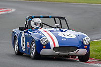 #12 Stephen FURNESS MG Midget  during CSCC Adams & Page Swinging Sixties Series  as part of the CSCC Oulton Park Cheshire Challenge Race Meeting at Oulton Park, Little Budworth, Cheshire, United Kingdom. June 02 2018. World Copyright Peter Taylor/PSP.