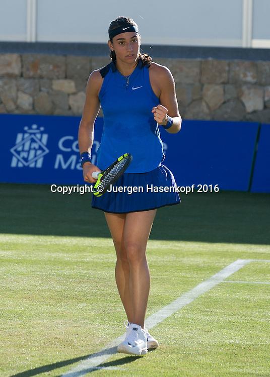 Caroline Garcia (FRA) macht die Faust und jubelt, Jubel, Emotion, Mallorca Open 2016<br /> <br />  -  -  WTA -  Santa Ponca Tennis Club - Santa Ponsa -  - Spanien  - 13 June 2016.