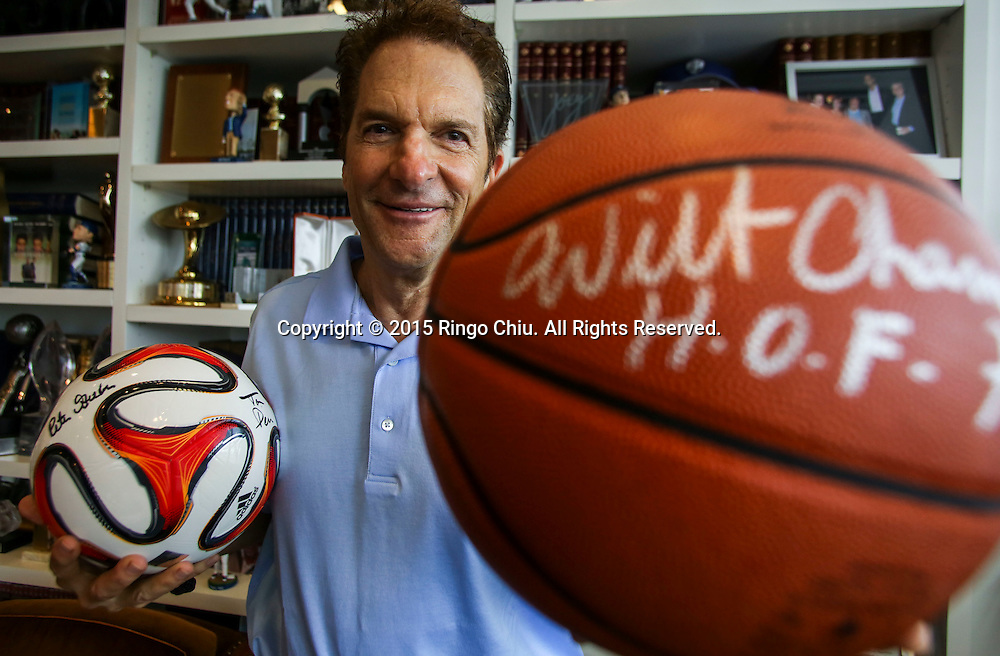 Peter Guber, CEO of  Mandalay Entertainment; and owner of Golden State Warriors, Los Angeles Dodgers and LAFC (MLS).<br /> (Photo by Ringo Chiu/PHOTOFORMULA.com)