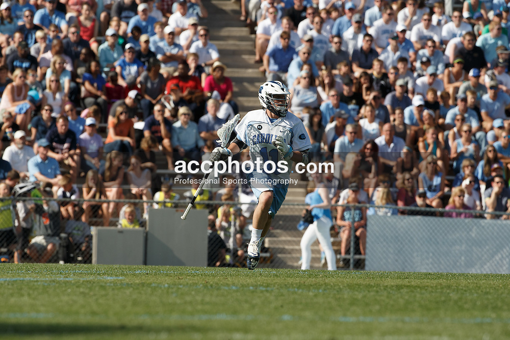 CHAPEL HILL, NC - APRIL 11: Joey Sankey #11 of the North Carolina Tar Heels plays against the Syracuse Orange on April 11, 2015 at Fetzer Field in Chapel Hill, North Carolina. North Carolina won 17-15. (Photo by Peyton Williams/US Lacrosse/Getty Images) *** Local Caption *** Joey Sankey