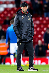 Liverpool manager Jurgen Klopp - Mandatory by-line: Robbie Stephenson/JMP - 02/12/2018 - FOOTBALL - Anfield - Liverpool, England - Liverpool v Everton - Premier League