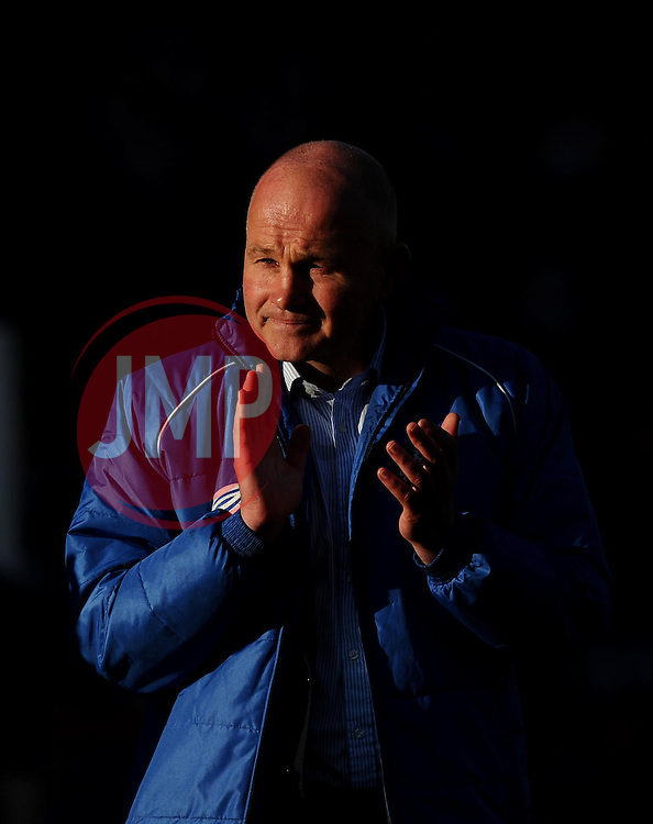 Bristol Head Coach, Andy Robinson  - Photo mandatory by-line: Joe Meredith/JMP - Mobile: 07966 386802 - 20/05/2015 - SPORT - Rugby - Bristol - Ashton Gate - Bristol Rugby v Worcester Warriors - Greene King IPA Championship - Play-Off Final