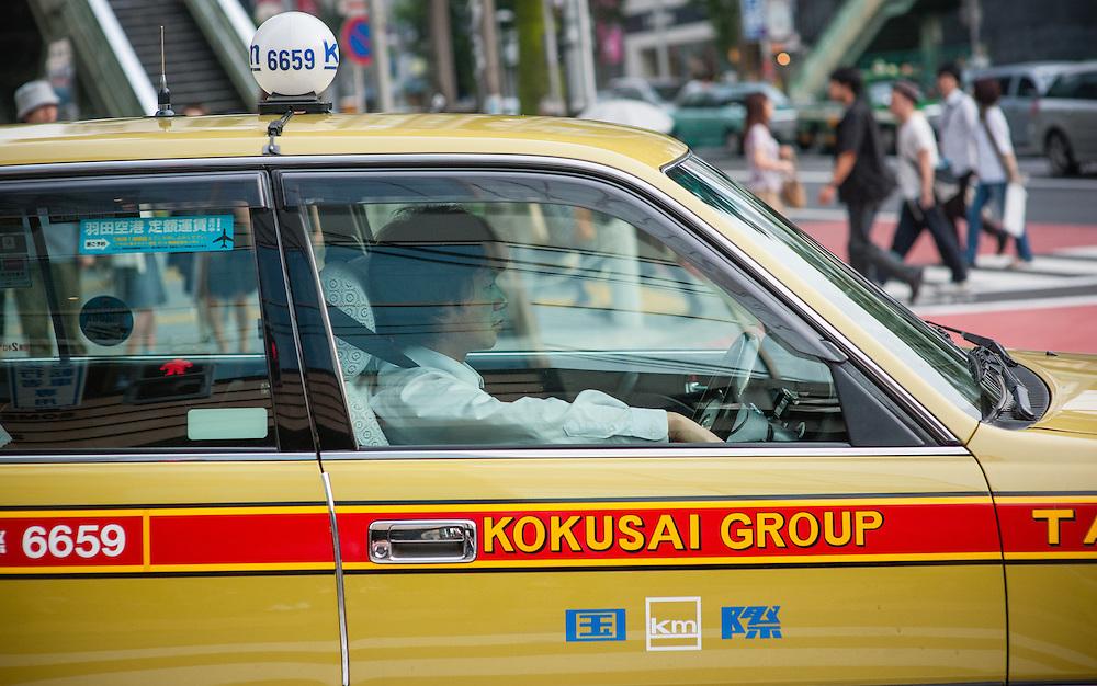 Tokyo cab driver (Japan)