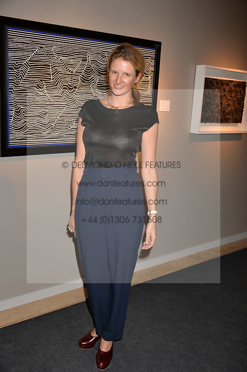 Fiona Scarry at the 2017 PAD Collector's Preview, Berkeley Square, London, England. 02 October 2017.