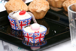 Cambridge, UK  29/04/2011. The Royal Wedding of HRH Prince William to Kate Middleton. Tea Cake as Kate on street party in Cambridge city centre. Photo credit should read Jason Patel/LNP. Please see special instructions. © under license to London News Pictures