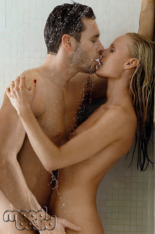 Naked Couple in Shower