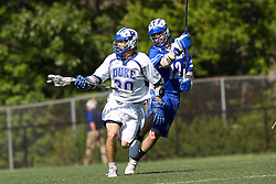 06 May 2007: Duke Blue Devils midfielder Terrence Molinari (30) during a 19-6 victory over the Air Force Falcons at Koskinen Stadium in Durham, NC.
