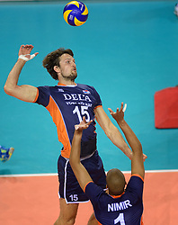 20150613 NED: World League Nederland - Finland, Almere<br /> Thomas Koelewijn #15