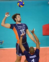 20150613 NED: World League Nederland - Finland, Almere<br /> Thomas Koelewijn #15