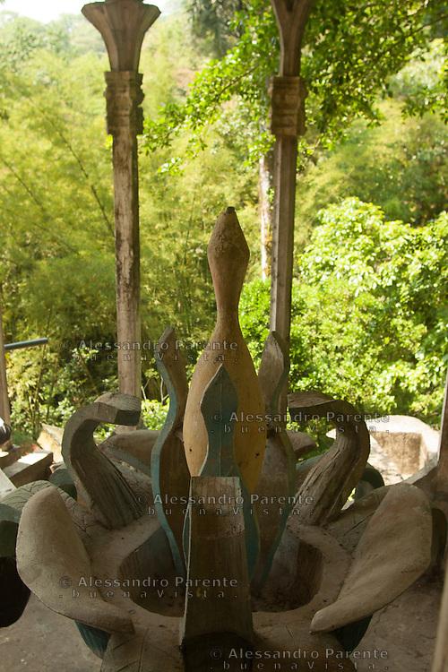 Fontana simbolica.