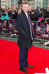 © Licensed to London News Pictures. 11/04/2016. John Heffernan arrives for the European film premiere of Eye In The Sky. London, UK. Photo credit: LNP