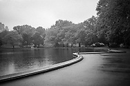 The Conservatory Water aka Sailboat Pond in Central Park, New York City