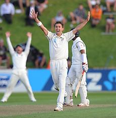 Wellington-Cricket, New Zealand v India, 2nd test, February 14