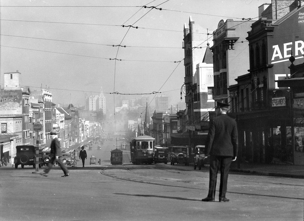 William Street, Sydney, Australia,  1930